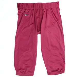 Nike Open Field Football Pants Tights Red Burgundy